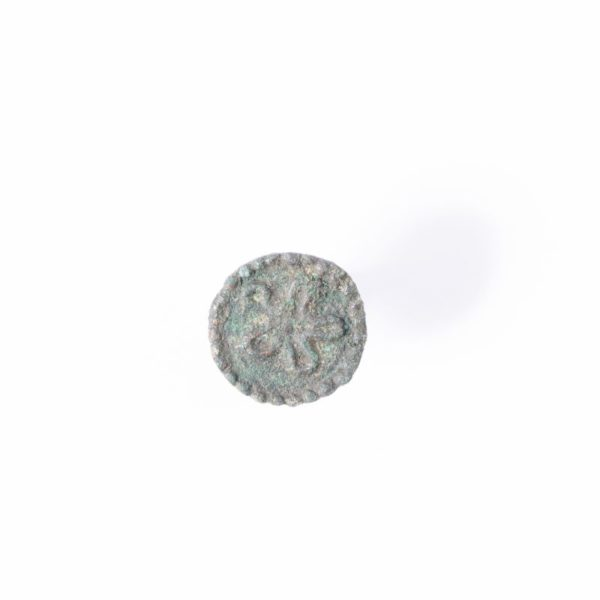 Roman Bronze Coin Ring, 2nd Century AD