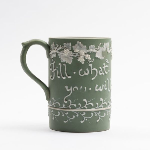 Wedgwood rare Motto relief Mug, 1925