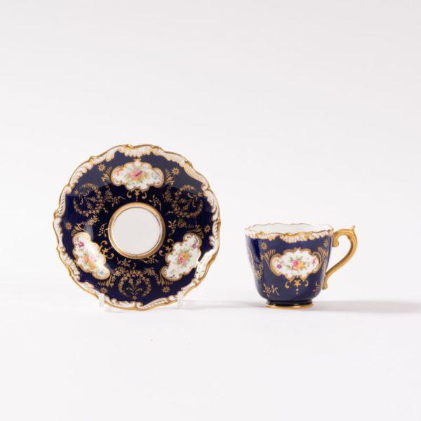 Coalport demi-tasse cup & saucer