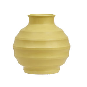 Wedgwood Keith Murray design, football shaped vase, c.1932